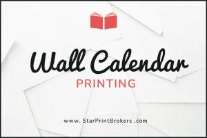 Wall calendar printing is another product that we provide.