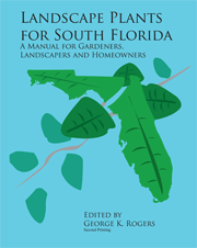 Book printing services - Landscape Plants of South Florida, by George Rogers