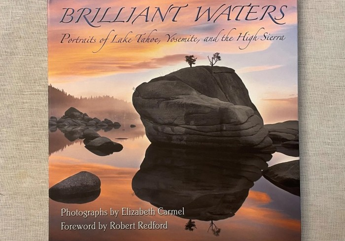 Brilliant Waters by Elizabeth Carmel. Photography book printing.