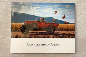 A Lighter Side of Africa art book, with the paintings of Michael J. Allard.