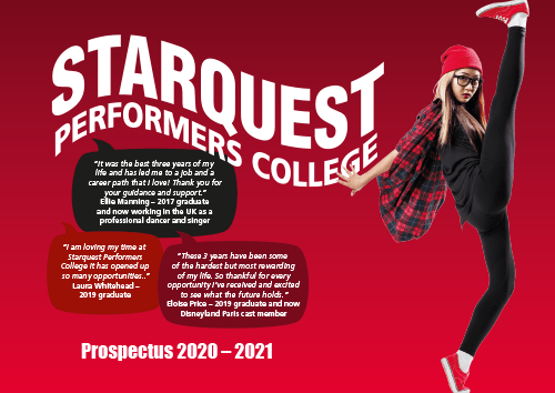 Download our 2020-21 Prospectus