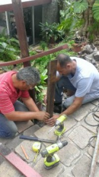 Railing repair_Estevan and Carlos_1