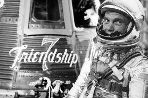 John Glenn and Mercury Friendship 7