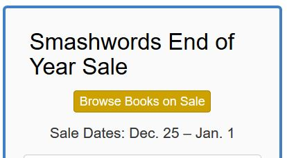 End of Year Sale at Smashwords!