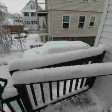 First snow Dec 2019