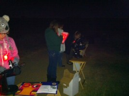 Learning to use the FunScopes to find Jupiter and the Moon