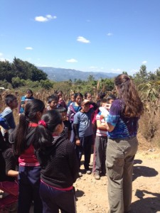 6th grade students from the school Buena Esperanza