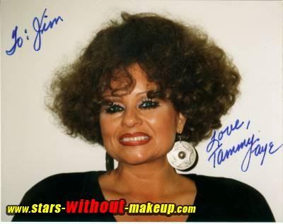 Tammy Faye Without Makeup