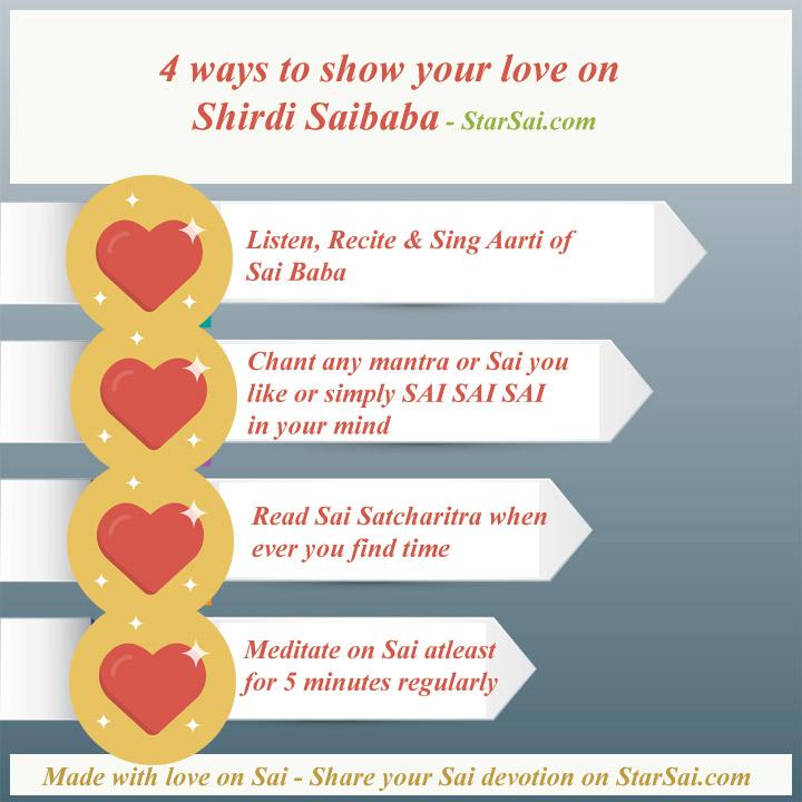 Shirdi Saibaba Love