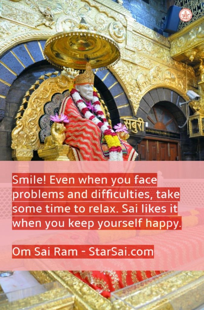 Shirdi Saibaba Smile