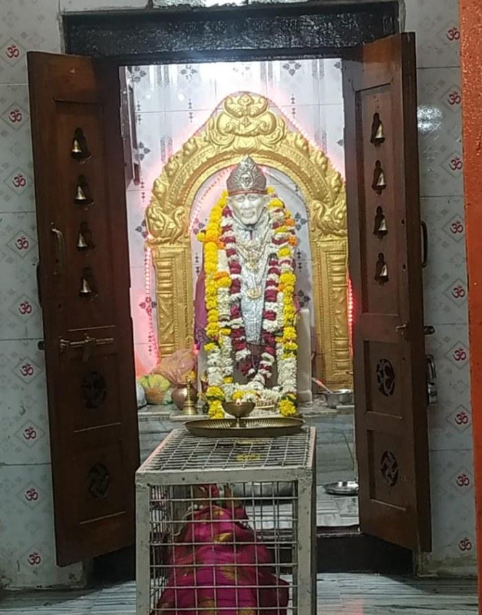 Sai Baba Mandir in M.G.Road, Gulbarga