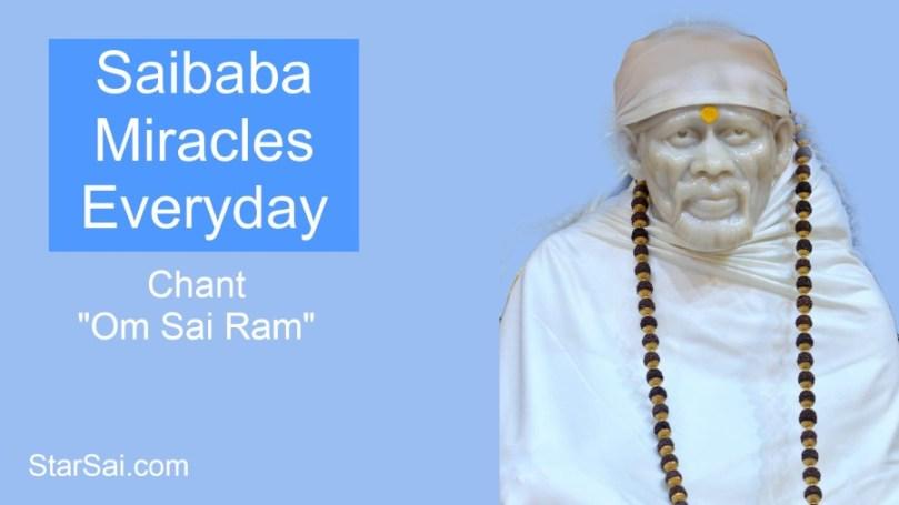 Shirdi Saibaba Miracles