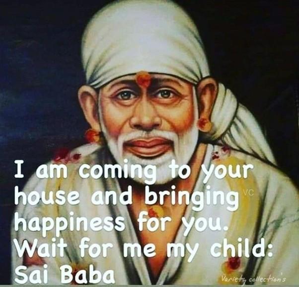 Shirdi Saibaba happiness