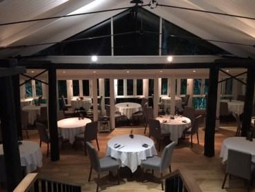 La Colombe dining room