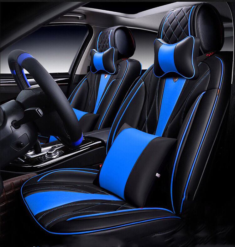 Fine Sport Universal Fit Car Seat Cover Black With Blue Pdpeps Interior Chair Design Pdpepsorg
