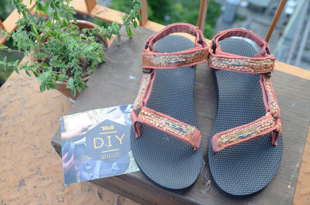 DIY Teva Sandals project