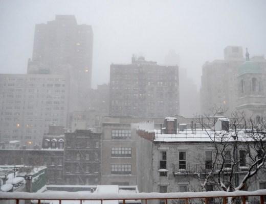 NYC Jonas Blizzard Snow Manhattan