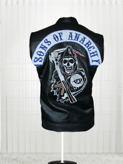 Sons of Anarchy Leather Vest
