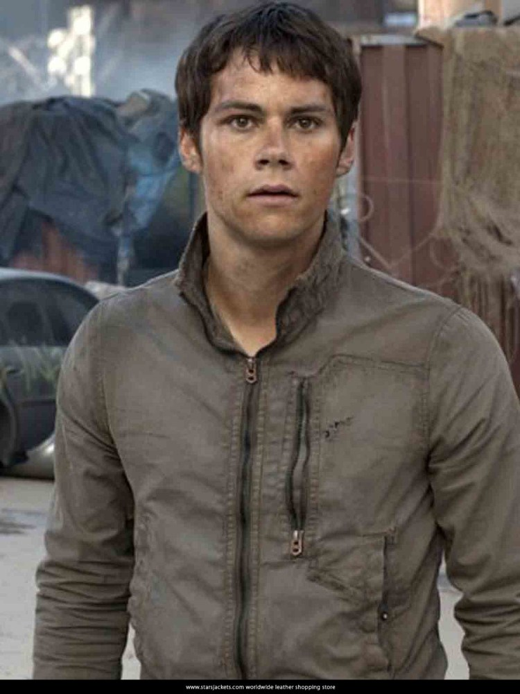 Dylan O'Brien The Death Cure leather Jackets - Stars Jackets