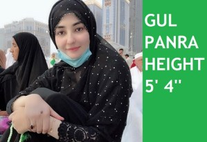 Gul Panra Height