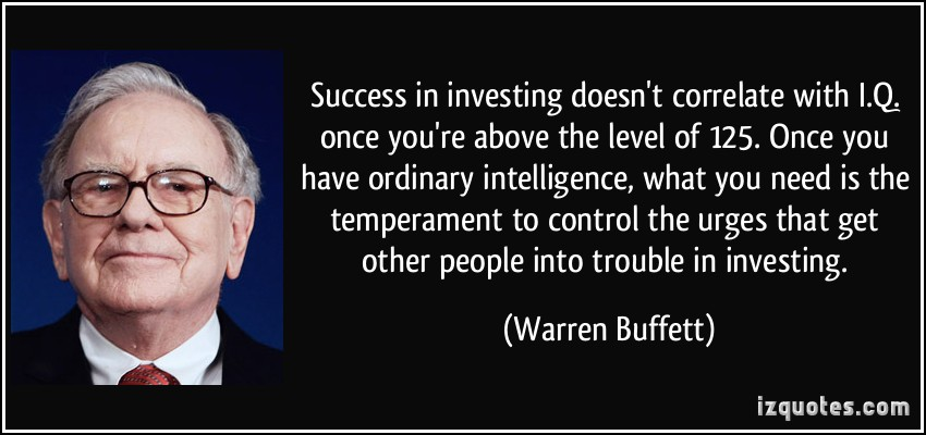 One of the 5 tips for stock picking success is that intelligence isn't everything. His active investing strategy focuses on psychology.