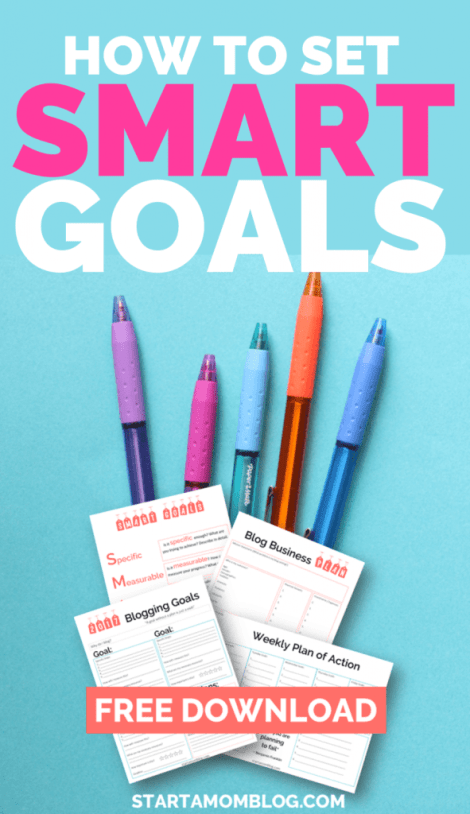 How to set smart goals for your business and blog