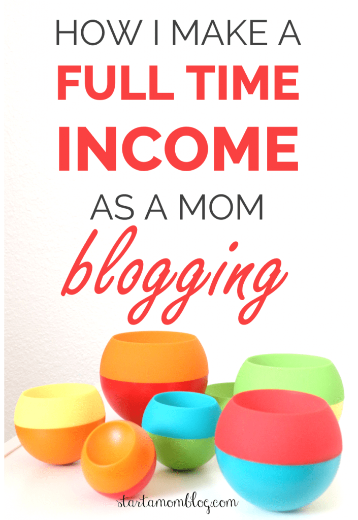Free Blogging Course - How I make a full time income blogging - #startablog #makemoney #blogging #makemoneyblogging #workfromhome #makemoneyonline www.startamomblog.com