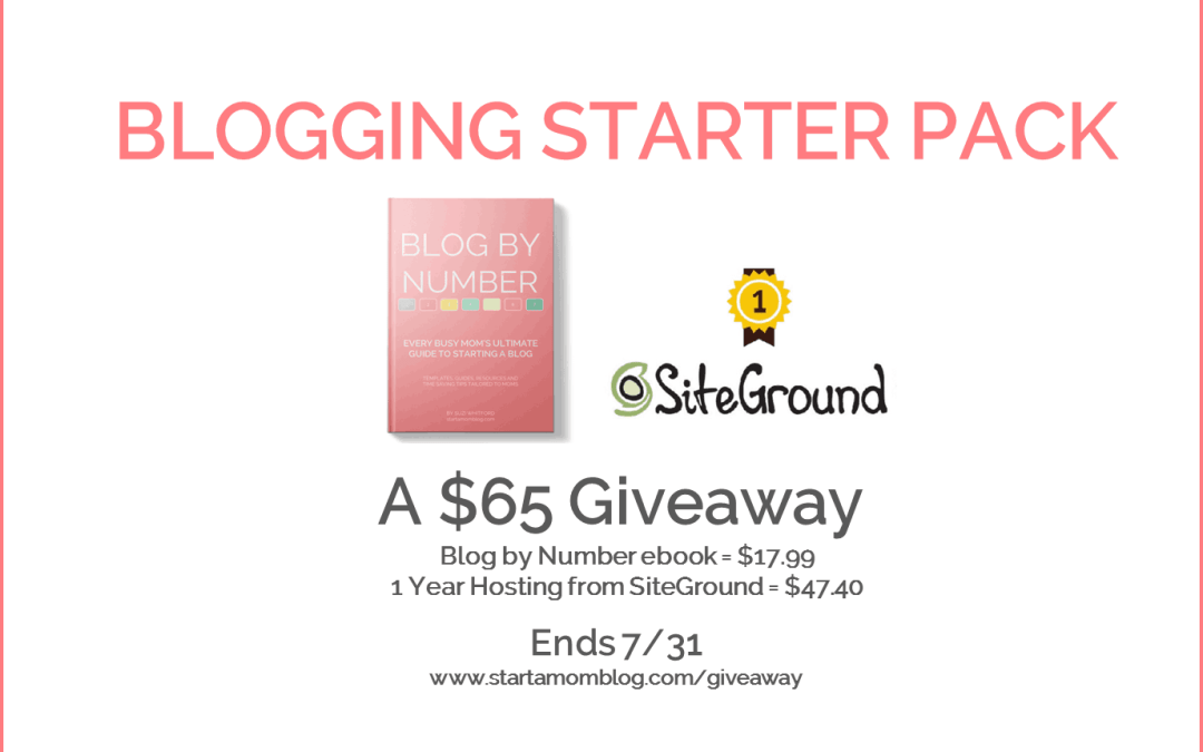 Blogging Starter Package