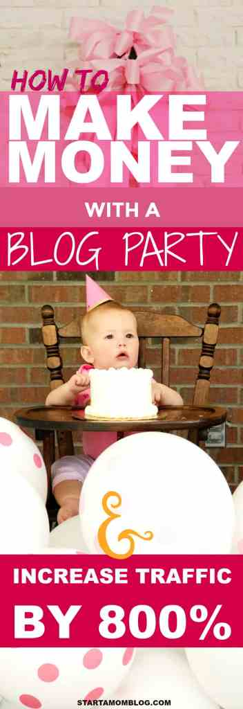 How to make money with a blog party