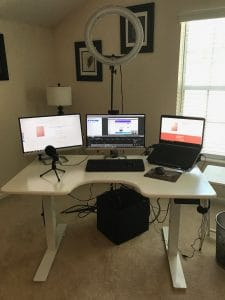 Blog Equipment Setup
