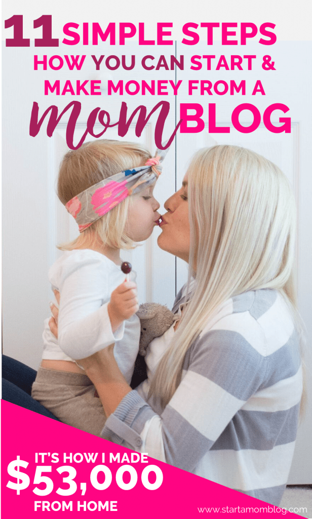 How to start a mom blog with toddler 2