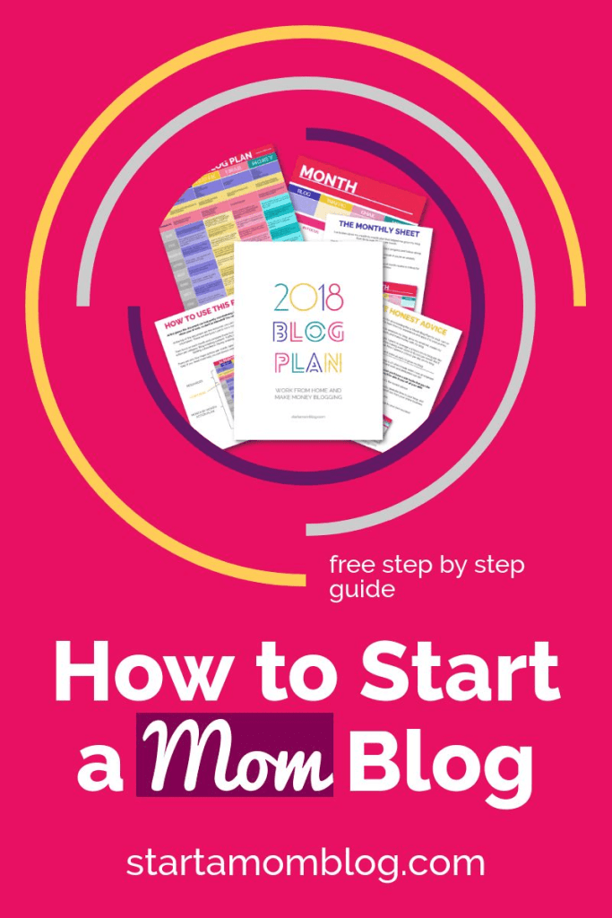 How to start a Mom Blog Plan