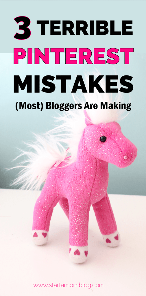 pinterest mistakes bloggers