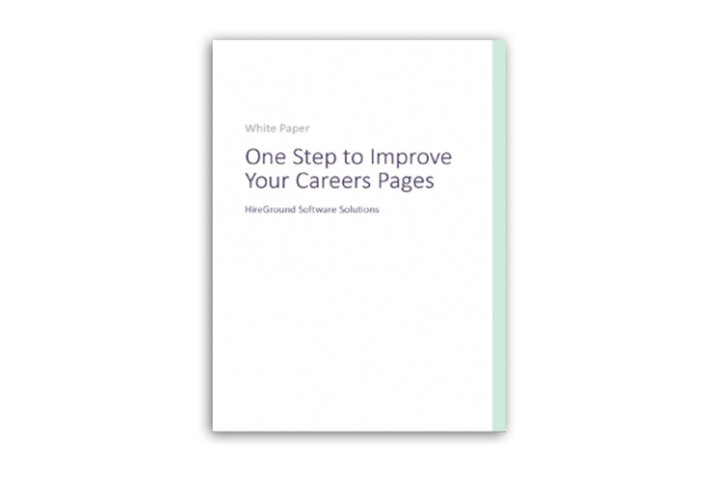 one step to improve your career pages