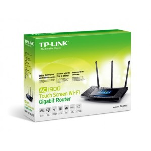 TP-Link Touch P5 AC1900 Gigabit Wireless Router with Touchscreen Control Panel