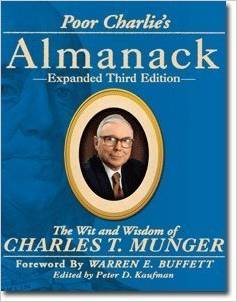 poor charlie's almanack book