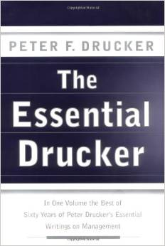 the essential drucker book