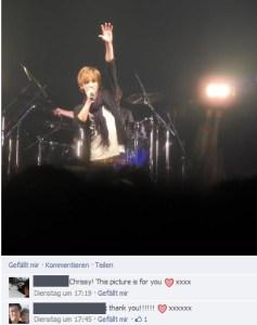 Dell Chan at the Furukawa Yuuta concert in Tokyo