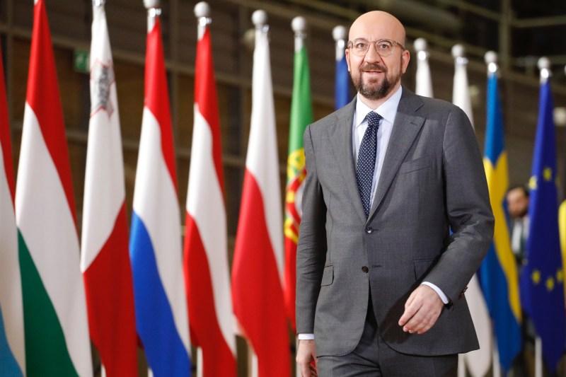 EU aid? Nothing definitive yet. Michel's word (EU Council)