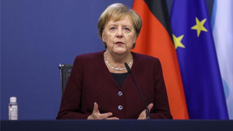 Потому что беспорядки в Германии по поводу восстановления должны беспокоить Брюссель и Драги.