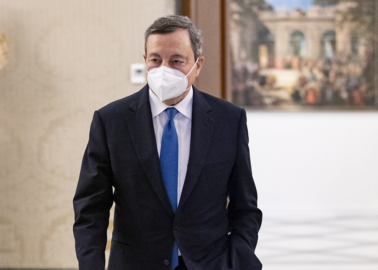Mario Draghi的磋商進行得如何。 《開始》雜誌特輯