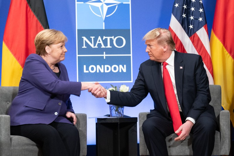 Why does Trump want to withdraw US troops from Germany?