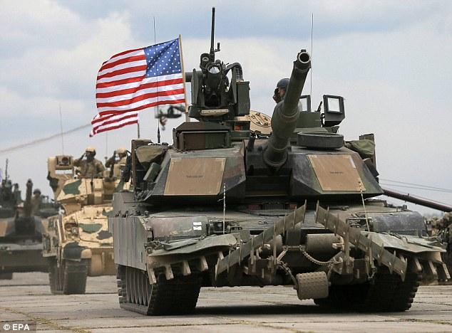 因為美國向波蘭出售坦克