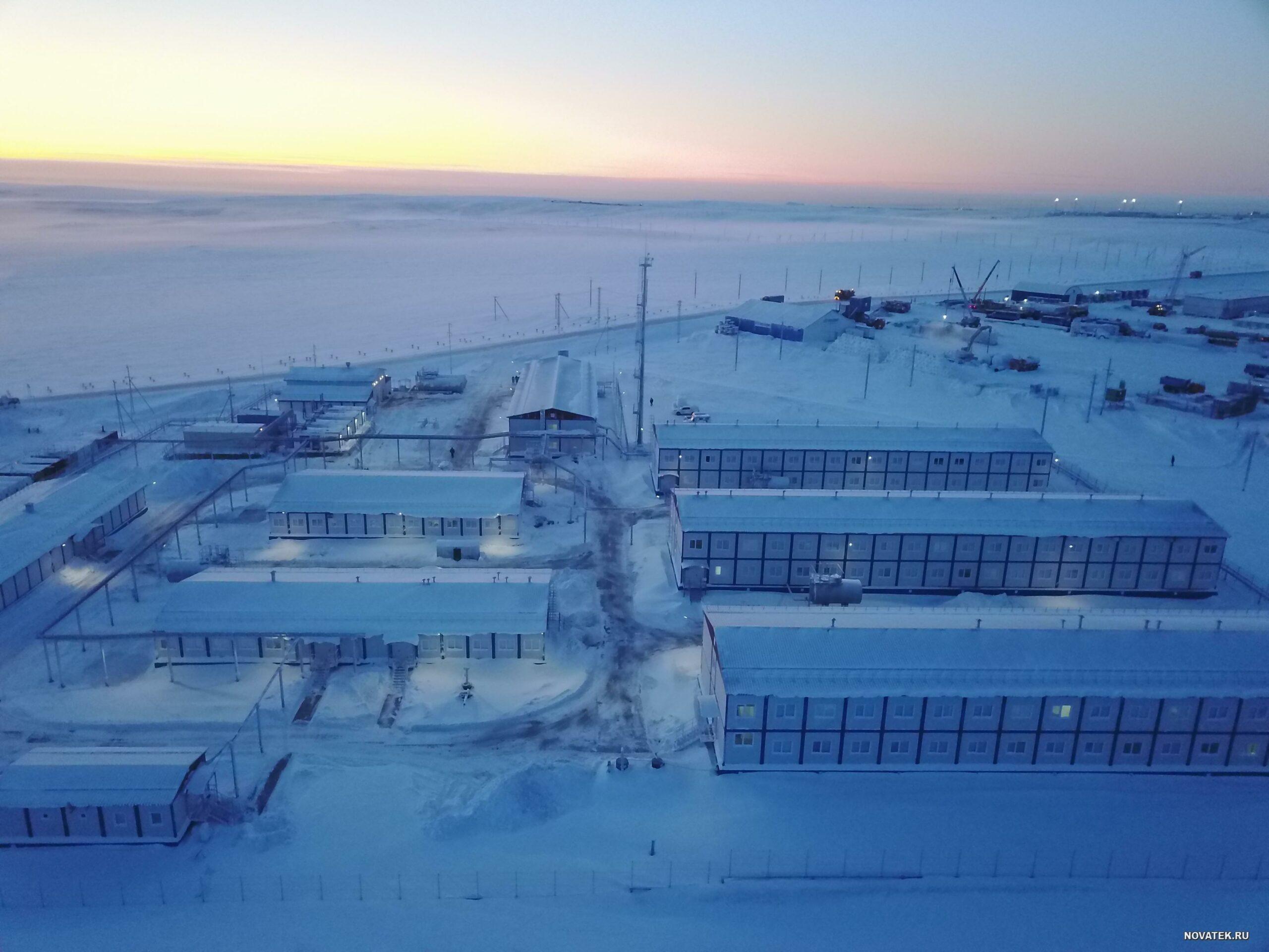 不僅是液化天然氣,這也是美國和俄羅斯在烏克蘭和北極之間競爭的方式