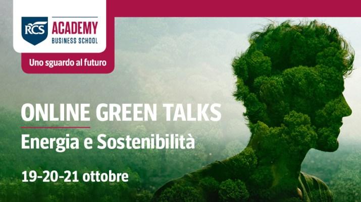 La deuxième édition des Online Green Talks - Énergie et durabilité de RCS Academy démarre