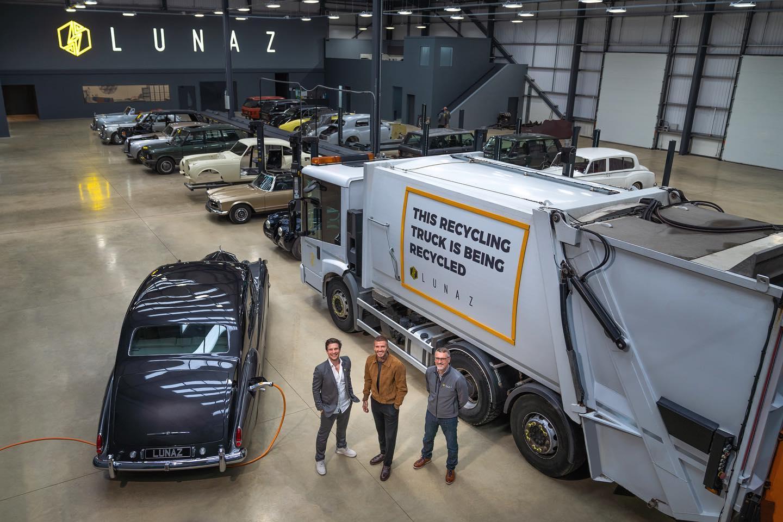 貝克漢姆也會用 Lunaz 電動車得分嗎?