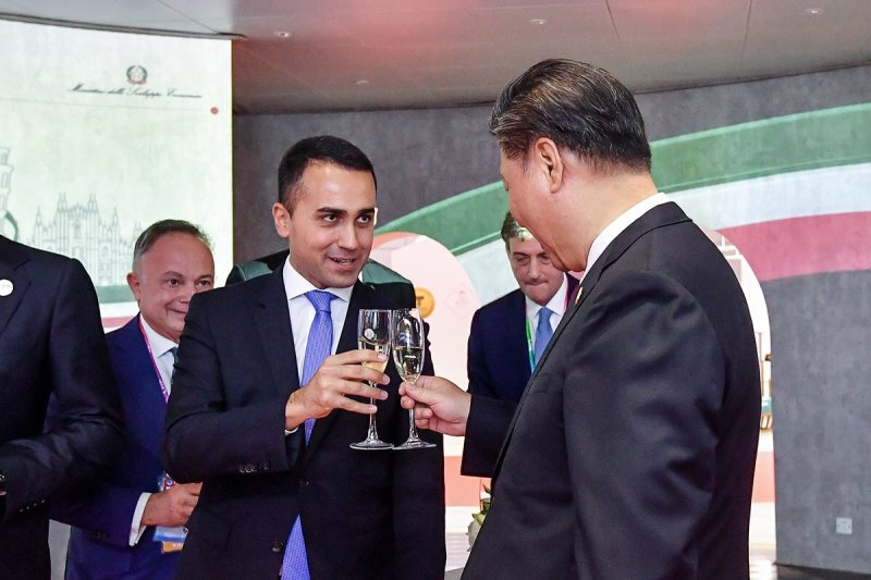 M5S слишком балует Китай. Farefuturo отчет