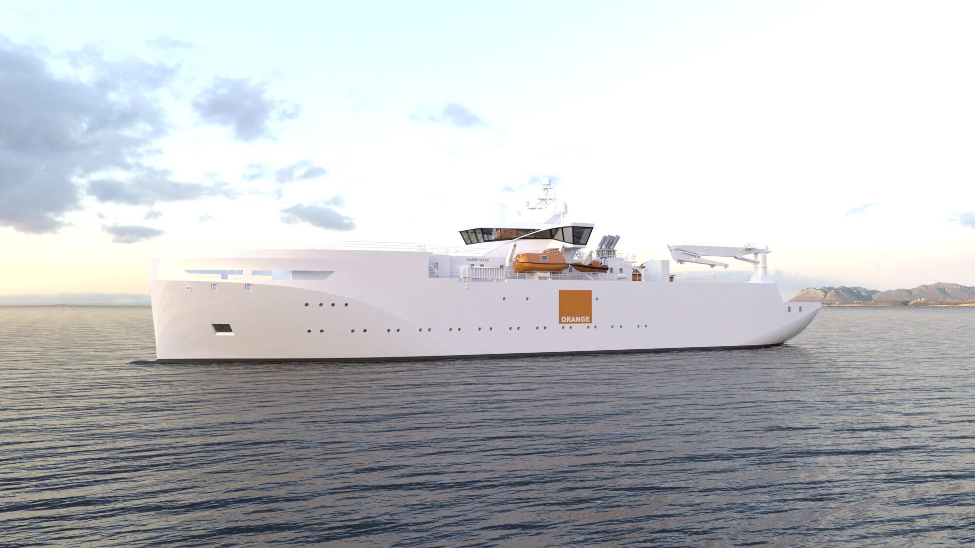 Fincantieri,Vard將如何處理法國Orange公司的海底電纜