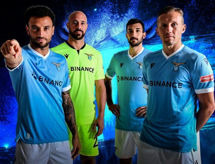 Ce que fait Binance, le nouveau sponsor de la Lazio