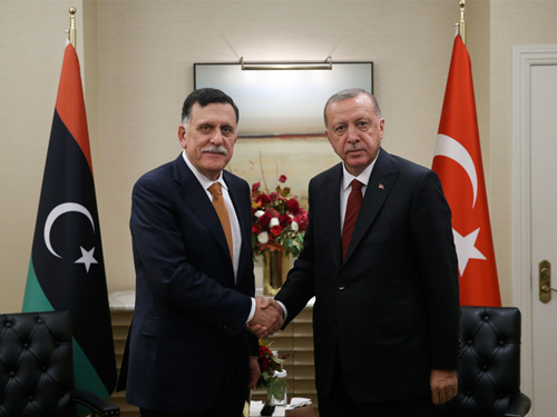 土耳其在利比亞做什麼